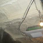 RC造地下天井断熱 施工後