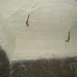 RC造地下天井断熱 施工