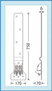 Kホルダー1型 図面