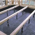 チャコールペイント床下施工