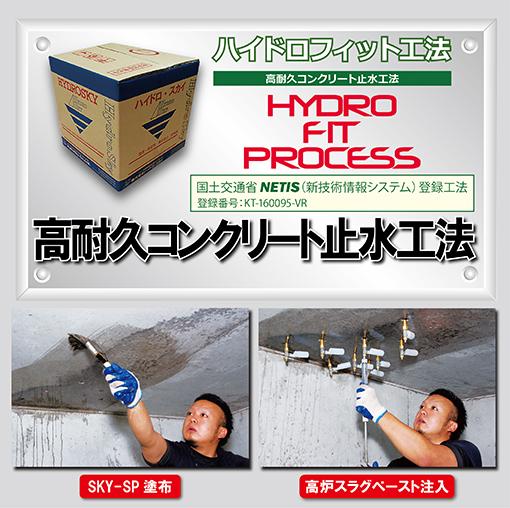 ハイドロフィット工法イメージ